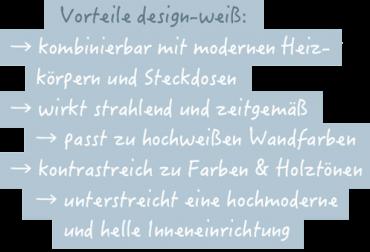 _Vorteile design-weiß